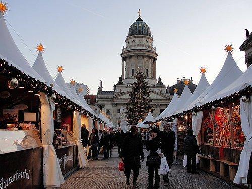 Kerstmarkt Berlijn Gendarmenmarkt