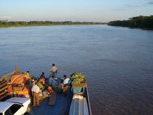 boot tussen Iquitos en Yurimaguas peru